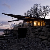 THE BOATHOUSE Loch Tay  -    \'Architectural Excellence\'  RIBA Award 2010