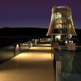 RANNOCH HOTEL & LEISURE RESORT - Restaurant - On the Drawing Board DIA Award  2011