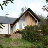 New build on Loch Rannoch