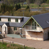 Loch Rannoch House. Alterations and extension.